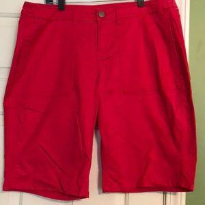 Pink Bermuda shorts - Lane Bryant